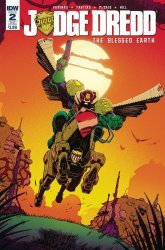 IDW Publishing's Judge Dredd: Blessed Earth Issue # 2sub