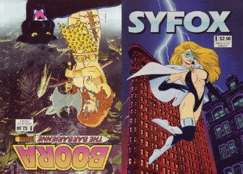 Barker Saur-Head Press's Syfox / Boora the Barbarienne Issue # 1