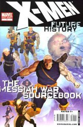 Marvel's X-Men Future History Messiah War Issue # 1