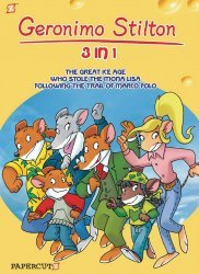 Papercutz's Geronimo Stilton 3-In-1 Soft Cover # 1