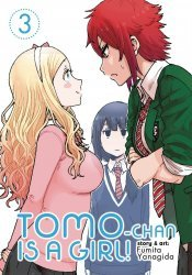 Seven Seas Entertainment's Tomo-Chan is a Girl Soft Cover # 3