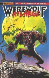 Eternity Comics's Werewolf at Large Issue # 2