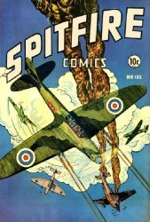 Elliot Publishing Company's Spitfire Comics Issue # 132