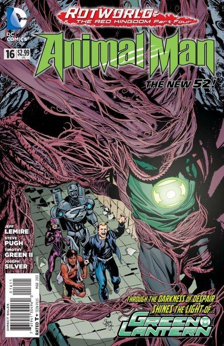Animal Man #15 Unread New Near Mint New 52 DC 2011 **21
