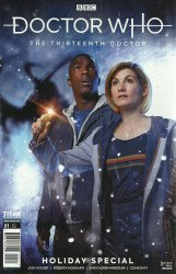 Titan Comics's Doctor Who: The 13th Doctor - Holiday Special Issue # 1b