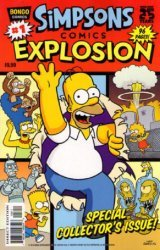 Bongo Comics's Simpsons Comics Explosion Issue # 1