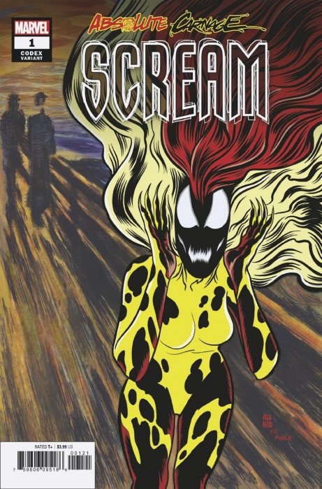 Absolute Carnage Scream #3 Bagley Connecting Variant NM Marvel, 2019