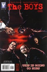 WildStorm's The Boys Issue # 1