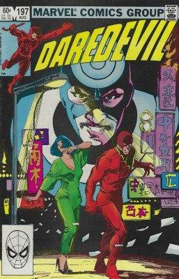 Marvel Comicss Daredevil Issue 197