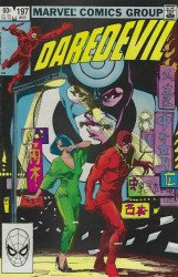 Marvel Comics's Daredevil Issue # 197