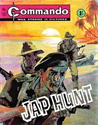 D.C. Thomson & Co.'s Commando: War Stories in Pictures Issue # 167