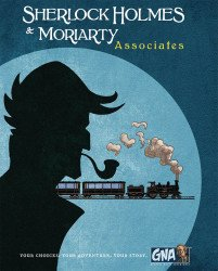 Van Ryder Games, LLC's Sherlock Holmes & Moriarty: Associates - A Graphic Novel Adventure Hard Cover # 1