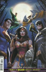 DC Comics's Justice League Issue # 35b