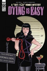 IDW Publishing's Dying is Easy Issue # 4b