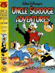 Gladstone's Uncle Scrooge Adventures in Color by Carl Barks Hard Cover # 35