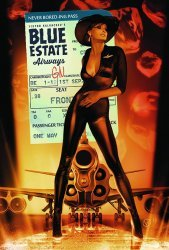 Image Comics's Blue Estate Hard Cover # 1