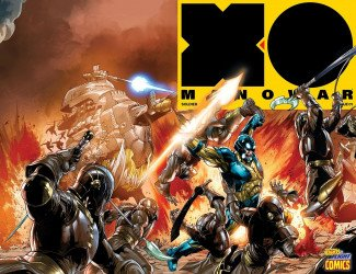 Valiant Entertainment's X-O Manowar Issue # 1fight or flight