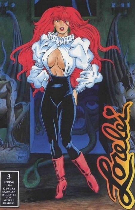 Lorelei #4 Fall 1994 Starwarps Concepts Comic