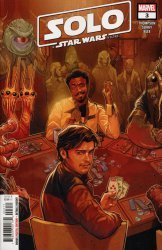 Marvel Comics's Solo a Star Wars Story Adaptation Issue # 3
