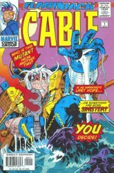 Marvel Comics's Cable Issue # -1