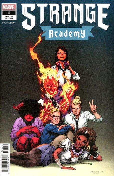 Strange Academy #4 Artist Variant 1:25 Marvel Comics 1st Print 10//28