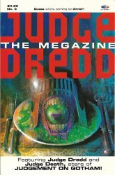 Fleetway (AP/IPC)'s Judge Dredd Megazine Issue # 3