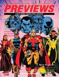 Diamond Comics Distribution's Previews Issue # 61
