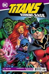 DC Comics's Titans: Burning Rage Issue # 1