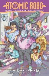 IDW Publishing's Atomic Robo and the Dawn of a New Era TPB # 1