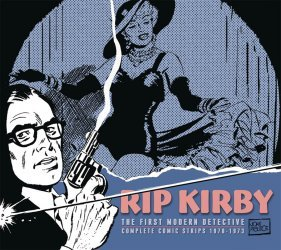 IDW Publishing's Rip Kirby:  The First Modern Detective Hard Cover # 10