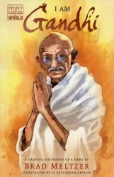 Dial Books's Ordinary People Change the World: I am Gandhi Hard Cover # 1