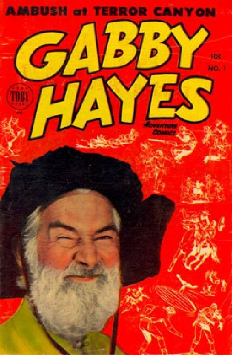 Gabby hayes adventure comics 1 toby press for Gabby hayes