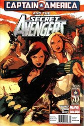 Marvel Comics's Captain America and the Secret Avengers Issue # 1b