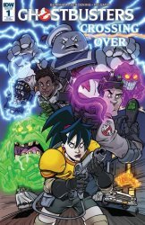 IDW Publishing's Ghostbusters: Crossing Over Issue # 1ri-b