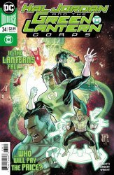 DC Comics's Hal Jordan and the Green Lantern Corps Issue # 34