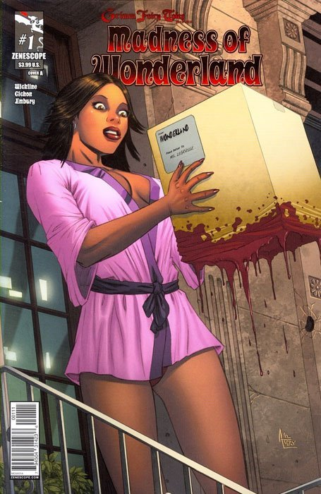 Grimm Fairy Tales Presents: Madness of Wonderland 1 ...