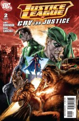 DC Comics's Justice League: Cry for Justice Issue # 2
