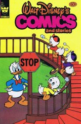 Whitman's Walt Disney's Comics and Stories Issue # 495