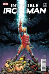 Marvel's Invincible Iron Man Issue # 10b