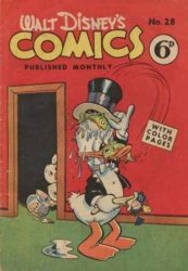 W.G.(Wogan)Publications's Walt Disney's Comics Issue # 28