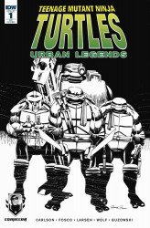 IDW Publishing's Teenage Mutant Ninja Turtles: Urban Legends Issue # 1occ