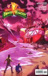 BOOM! Studios's Mighty Morphin Power Rangers Issue # 11