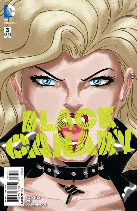 Fletscher Moritat DC Black Canary Band 1+2 Panini neu