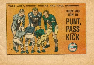 K. K. Publications's Ford: Punt, Pass & Kick Issue nn b