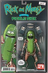 Oni Press's Rick and Morty Presents: Pickle Rick Issue # 1re