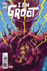 Marvel Comics's I Am Groot Issue # 4