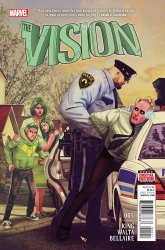 Marvel Comics's The Vision Issue # 5
