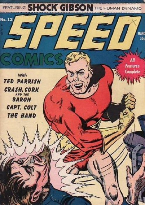 Image result for speed comics harvey