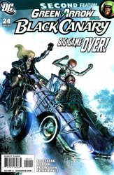 DC Comics's Green Arrow and Black Canary Issue # 24