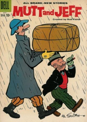 Mutt and Jeff Issue # 105 (Dell Publishing Co )
